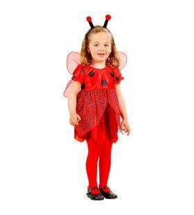 Lieveheersbeestje Met Voelsprieten Meisje Kostuum