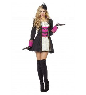 Vlijmscherpe Musketier Vrouw Kostuum