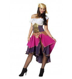 Zigeunerin Met Pit Vrouw Kostuum