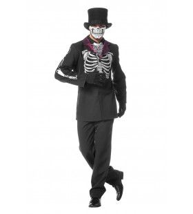 Mexican Day Of The Dead Man