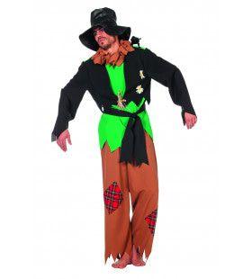 Vogelverschrikker Korenveld Man Kostuum