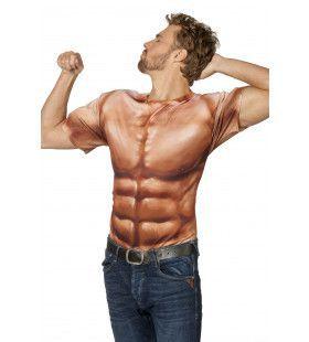 Shirt Bulkende Spieren Bodybuilder Man