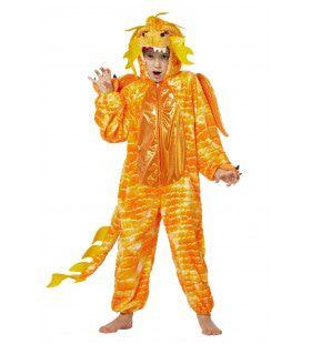 Chinese Draak Oranje Kostuum