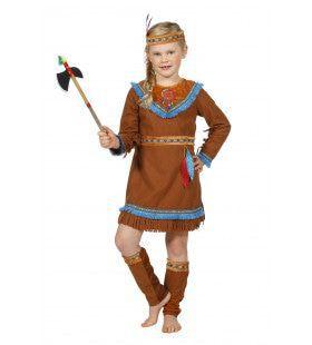 Acolapissa Indiaan Meisje Kostuum