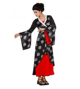 Aziatische Schone Vrouw Kostuum