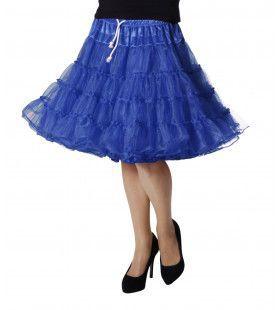 Petticoat Swing Luxe Blauw