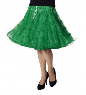 Petticoat Swing Luxe Groen