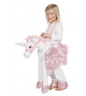 Sprookjes Mythe Eenhoorn Wit Meisje Kostuum