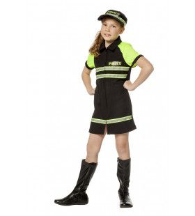 Veilig Verkeer Agente Vera Meisje Kostuum