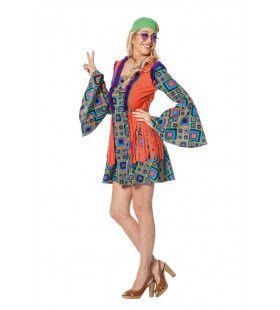 Hippie Summer Of Love Vrouw Kostuum