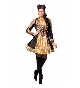 Overdadige Showgirl Jas Theater Vrouw