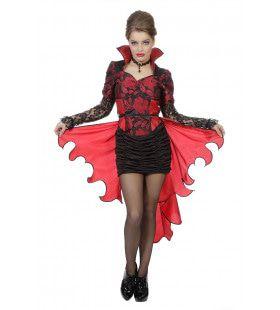 Hunkeren Naar Bloed Vampier Vrouw Kostuum
