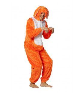 Lekker Opvallende Haas Neon-Oranje Kostuum