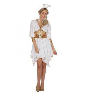 Hemels Engel Cherubijn Vrouw Kostuum