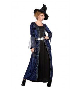 Hemelse Nachtelijke Toverheks Vrouw Kostuum