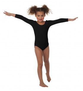 Body Lange Mouwen Misty Zwart Meisje Kostuum