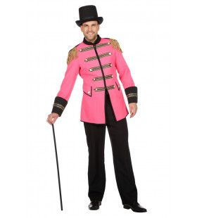 Grootste Show In De Stad Roze Circus Directeur