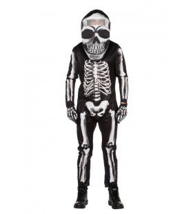 Waterhoofd Skelet Halloween Man Kostuum