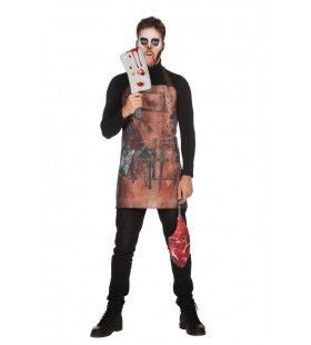 Slagersschort Met Biefstuktas Halloween