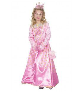 Roze Ster Van Het Bal Koninklijke Prinses Meisje Kostuum