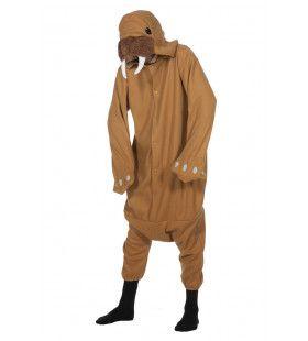Walrus Lange Slagtanden Pool Kostuum