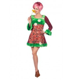 Mama Muurbloempje Vrouw Kostuum