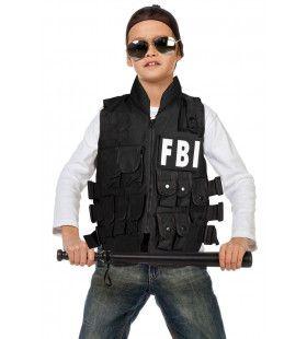 Fbi Luxe Vest Jongen Kind
