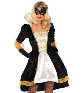 Belle Van Het Hof Maskerade Vrouw Kostuum